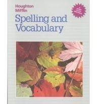 9780395626627: Spelling and Vocabulary