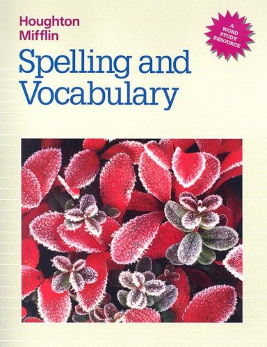 9780395626634: Spelling and Vocabulary