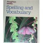 9780395626672: Houghton Mifflin Spelling and Vocabulary: Level 3