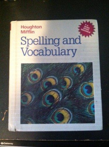 Houghton Mifflin Spelling And Vocabulary Grade 6