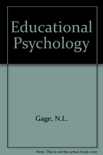 9780395628379: Educational Psychology
