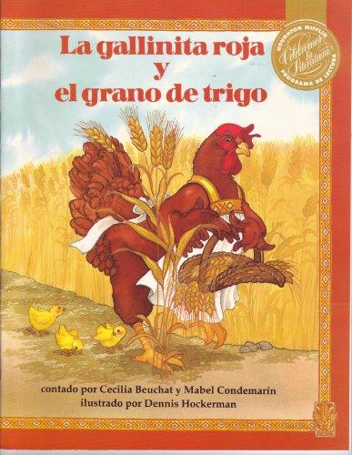 9780395630723: La gallinita roja y el grano de trigo