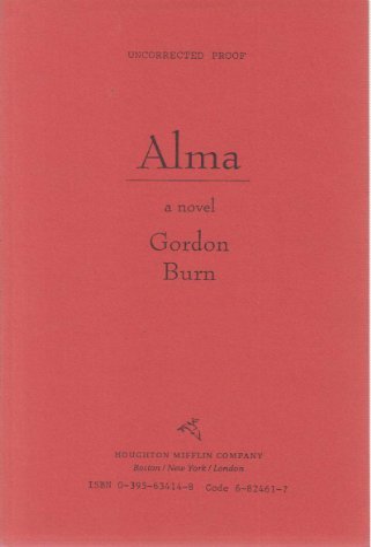 9780395634141: Alma: A Novel