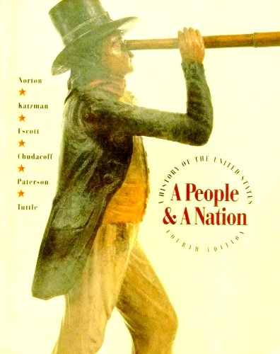 9780395634554: A People and a Nation