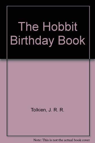 9780395636299: HOBBIT BIRTHDAY BOOK CL