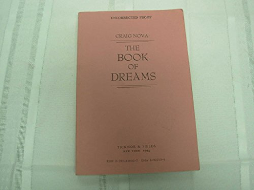 The Book of Dreams: Nova, Craig