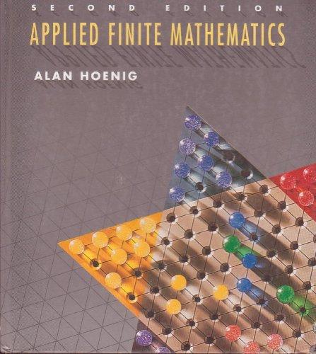 9780395637784: Applied Finite Mathematics