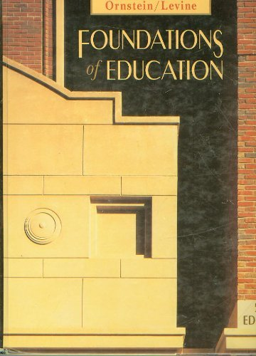 9780395637821: Foundations of Education