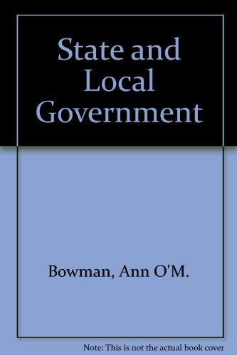 9780395638453: State and Local Government