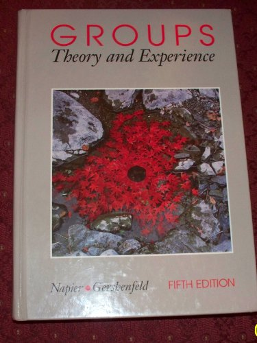9780395638699: Groups: Theory and Experience