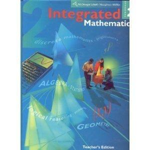 Integrated Mathematics 2, Teacher's Edition: Rubenstein, Craine, Butts