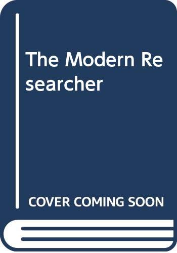 9780395644942: The Modern Researcher