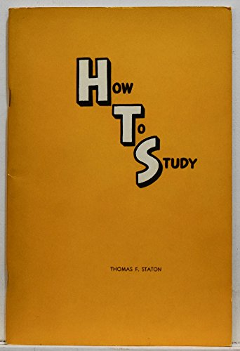 9780395647349: How to Study