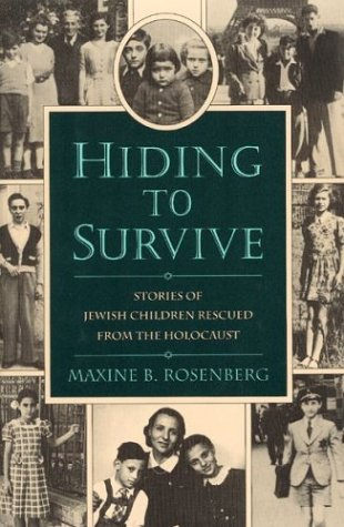 9780395650141: Hiding to Survive: Stories of Jewish Children Rescued from the Holocaust