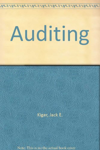 9780395653418: Auditing