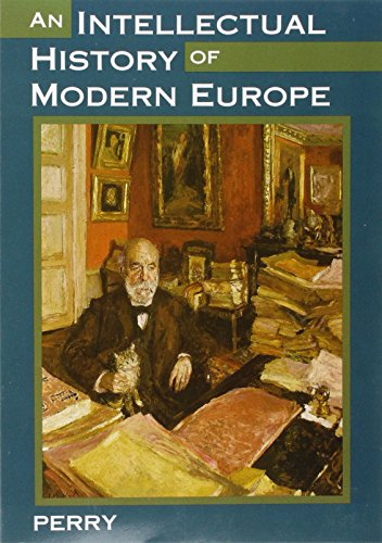 9780395653487: An Intellectual History of Modern Europe