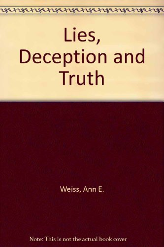 9780395657508: LIES DECEPTION AND TRUTH PA