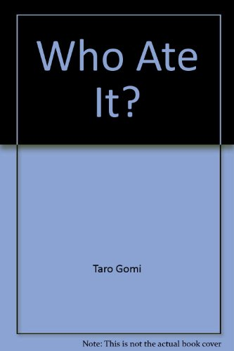 9780395658345: Who Ate It?