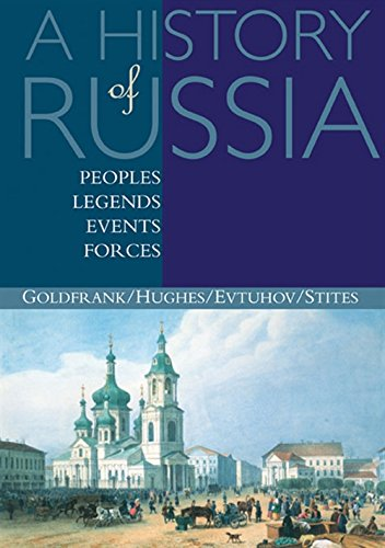 9780395660720: A History of Russia: Peoples, Legends, Events, Forces