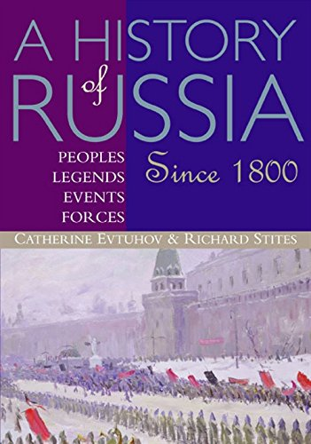 9780395660737: A History of Russia: Peoples, Legends, Events, Forces: Since 1800