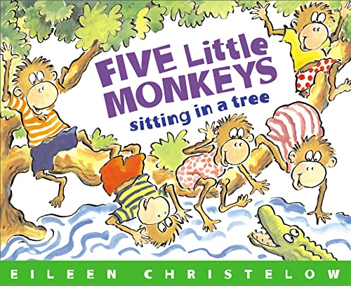 9780395664131: Five Little Monkeys Sitting in a Tree (A Five Little Monkeys Story)