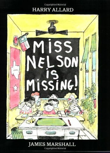 9780395664988: Miss Nelson Is Missing! Book & Cassette [With Book]