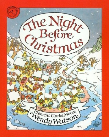 9780395665084: The Night Before Christmas
