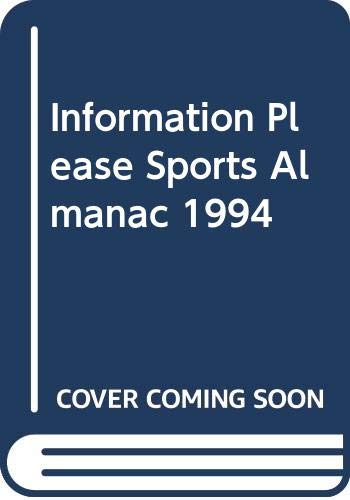 9780395665633: The 1994 Information Please, Sports Almanac
