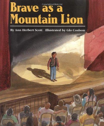 9780395667606: Brave as a Mountain Lion
