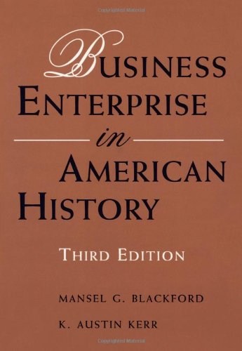 9780395668498: Business Enterprise in American History