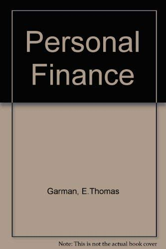 9780395668528: Personal Finance