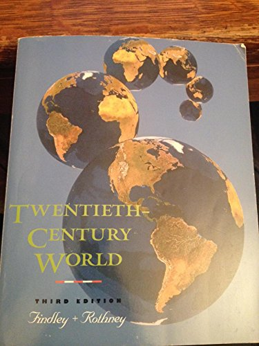 9780395668634: Twentieth-Century World