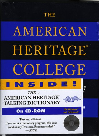 9780395669174: The American Heritage College Dictionary