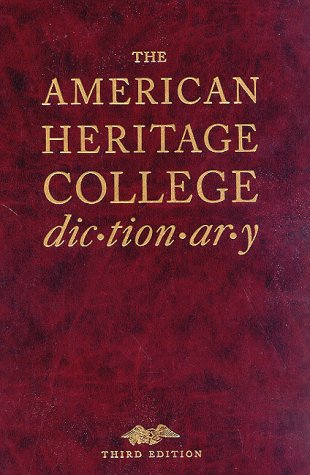 9780395669181: The American Heritage College Dictionary
