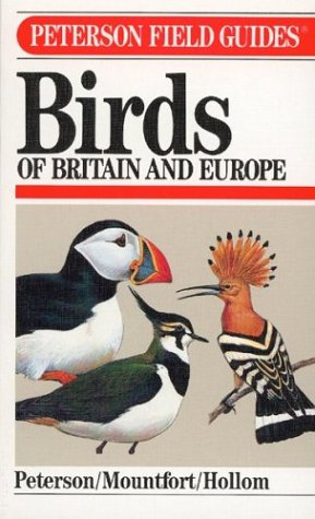 9780395669228: A Field Guide to Birds of Britain and Europe