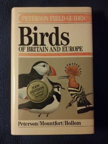 9780395669310: A Field Guide to Birds of Britain and Europe (Peterson Field Guides)