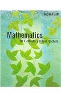 9780395669594: Mathematics for Elementary School Teachers
