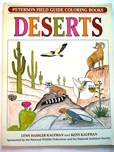 Field Guide Coloring Book DESERTS (Peterson Field: Kenn Kaufman, Lynn