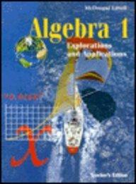 9780395671368: Algebra 1: Explorations and Applications, Teacher's Edition