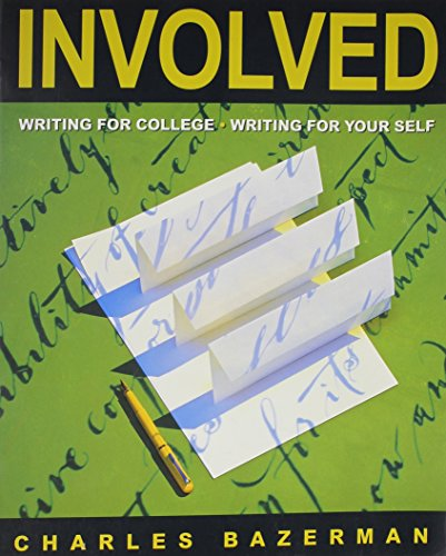 9780395671825: Involved: Writing for College Writing for Your Self