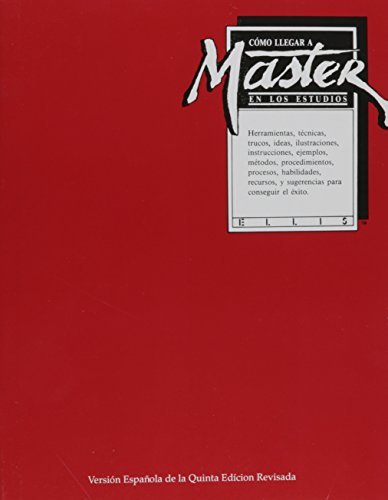 9780395675892: Becoming a Master Student (Spanish)