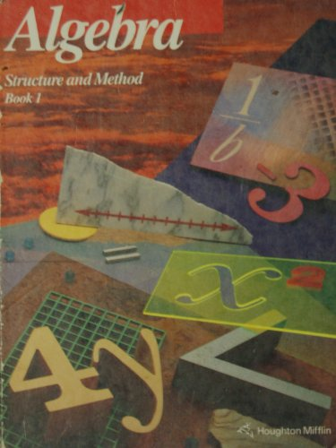 9780395676080: Algebra: Structure and Method Book 1