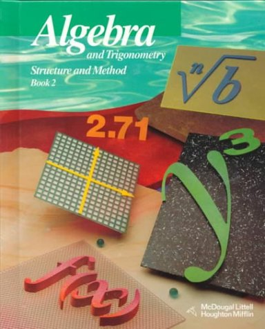 Algebra and Trigonometry: Structure and Method, Book: Richard G. Brown,
