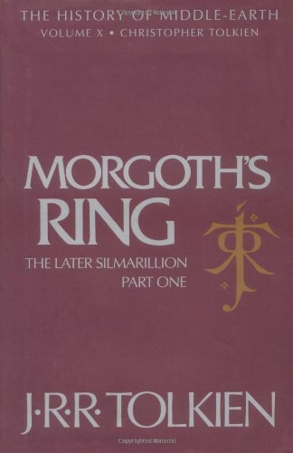9780395680926: Morgoth's Ring: The Later Silmarillion, Part 1, Vol. 1