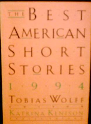 9780395681022: The Best American Short Stories 1994