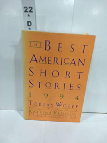 9780395681039: The Best American Short Stories 1994