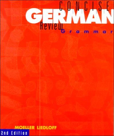 9780395688755: Concise German Review Grammar