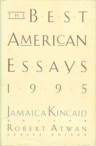 9780395691847: The Best American Essays 1995