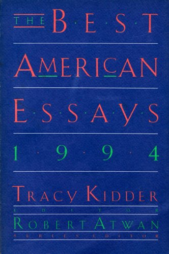 9780395692530: The Best American Essays 1994