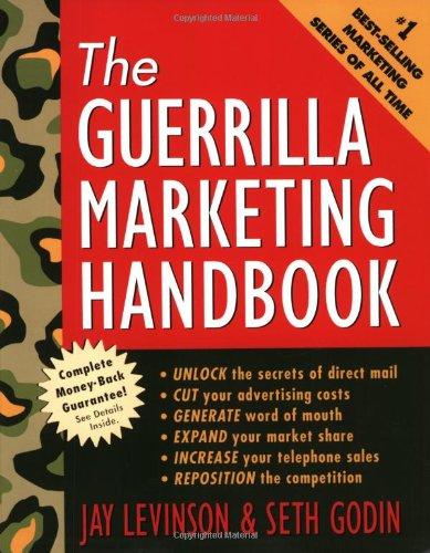 9780395700136: The Guerilla Marketing Handbook (Guerrilla Marketing)